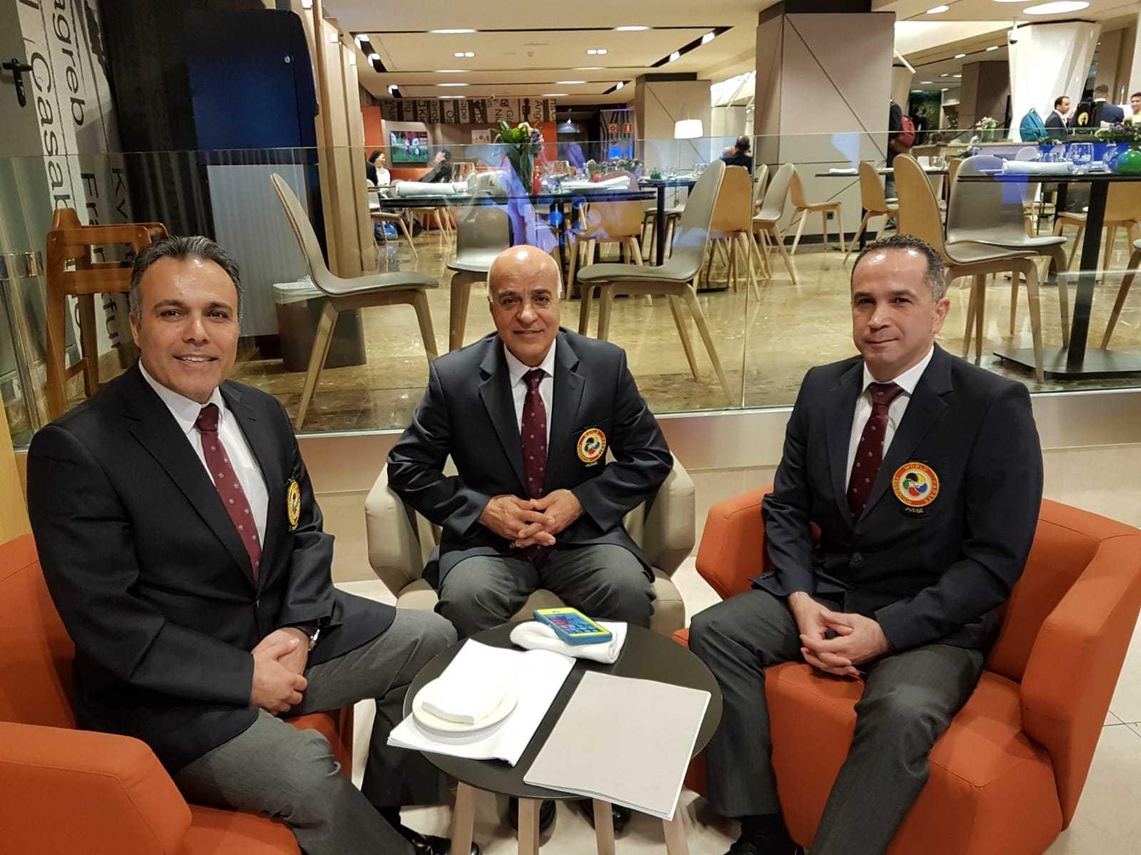 Sensei Ali, Nariman and Diago Spain 2018